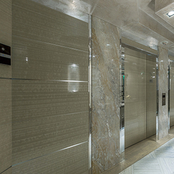 Luxury decorative surface for elevator lobby - Kinon® Pattern 026 | Wall laminates | Kinon® Surface Design
