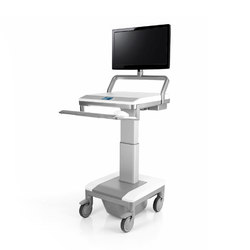 T7 Mobile Technology Cart | Advertising displays | Humanscale