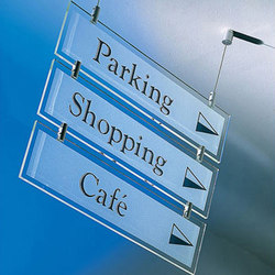 Retail Systems: Signage and Graphic Systems | Symbols / Signs | B+N Industries