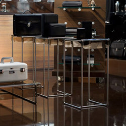 Retail Systems: Tables and Pedestals | Displayständer | B+N Industries