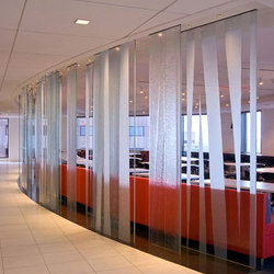 BermanGlass | Glass dividing walls | Forms+Surfaces®