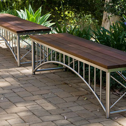 Bridge Bench | Bancs de jardin | Forms+Surfaces®