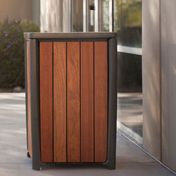 Cordia Family | Exterior bins | Forms+Surfaces®