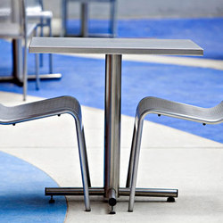 Cross Table | Cafeteria tables | Forms+Surfaces®