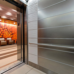 Elevator Interiors | Piastrelle in metallo | Forms+Surfaces®