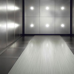 Elevator Interiors | Metal tiles | Forms+Surfaces®