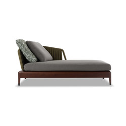 Indiana Chaiselongue | Gartensofas | Minotti