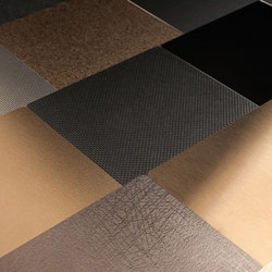Fused Metal | Metall Fliesen | Forms+Surfaces®