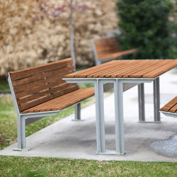 Knight Family | Tables et bancs de jardin | Forms+Surfaces®