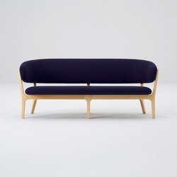 Roundish Two Seater Sofa | Lounge sofas | MARUNI