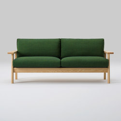 Bruno Wide Two Seater Sofa | Canapés d'attente | MARUNI