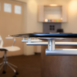Conference Table Hardware | Gambe per tavoli | Gyford StandOff Systems®