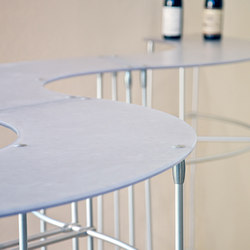 Custom Table Hardware | Patas de mesa | Gyford StandOff Systems®