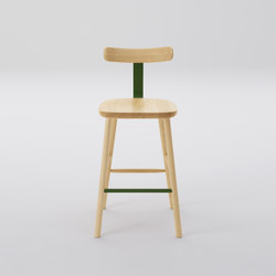 T&O T2 Bar Stool Mid | Stools | MARUNI