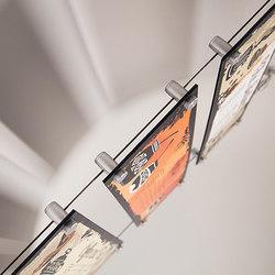 Menu Board Hardware | Schilderhalter | Gyford StandOff Systems®
