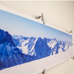 Photo Gripper Display | Sign holders | Gyford StandOff Systems®