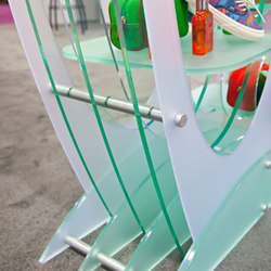 PLEXIGLASS Shelving System Hardware | Glass shelf brackets | Gyford StandOff Systems®