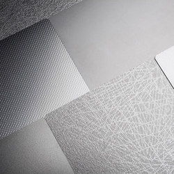 Stainless Steel | Azulejos de pared de metal | Forms+Surfaces®