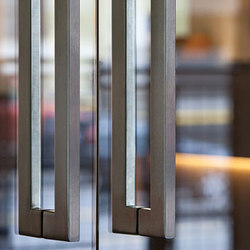 Tubular Door Pulls | Pull handles for glass doors | Forms+Surfaces®