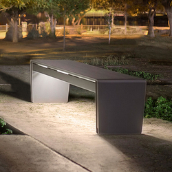 bench lighting. Vector Seating System | Exterior Benches Forms+Surfaces® Bench Lighting