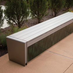 Vector Seating System | Exterior benches | Forms+Surfaces®