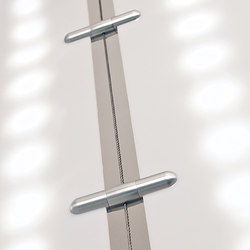 Wire Light Diffuser Hardware | Curtain cable systems | Gyford StandOff Systems®