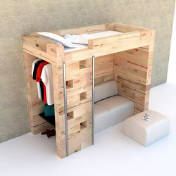 CRAFTWAND® - student bedroom design | Letti / Mobili per la camera da letto | Craftwand