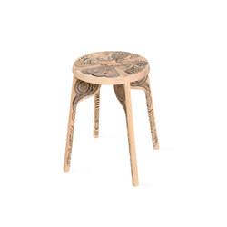 Tattoo Stool | Hocker | Zanat