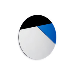 Nouveau 80 silver / cobalt / black | Mirrors | Reflections by Hugau/Larsson