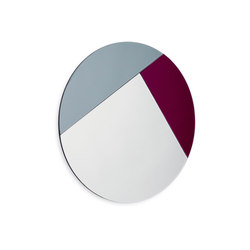 Nouveau 90 silver / midtnight blue / burgundy | Mirrors | Reflections Copenhagen