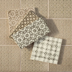 Scraffito Series | Floor tiles | Pratt & Larson Ceramics