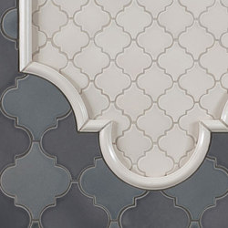 Arabesque Shapes | Floor tiles | Pratt & Larson Ceramics