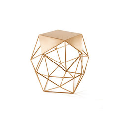 Archimedes Bronze Limited Edition Large Side Table | Tables d'appoint | Matthew Shively