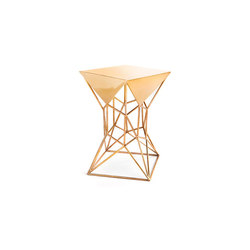 Archimedes Bronze Limited Edition Small Side Table | Tables d'appoint | Matthew Shively