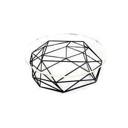 Archimedes Steel Coffee Table w| Glass Top | Mesas de centro | Matthew Shively
