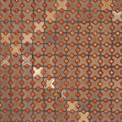 Metallic Micro Mosaic Glazed Ceramic Tile | Mosaïques | Pratt & Larson Ceramics