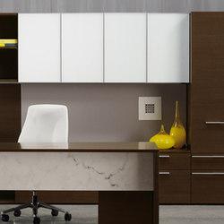 Cavara Casegoods | Individual desks | Nucraft