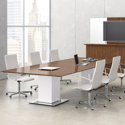 Elevare Conference Tables | Multimedia conference tables | Nucraft