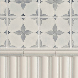 Motif Glazed Ceramic Tile | Azulejos de pared | Pratt & Larson Ceramics