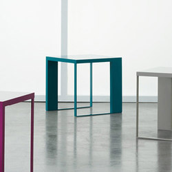 Emme Occasional Tables & Benches | Mesas auxiliares | Nucraft