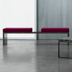 Emme Occasional Tables & Benches | Bancos de espera | Nucraft