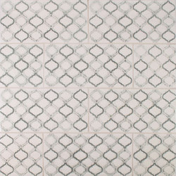 New Scraffito Pattern | Floor tiles | Pratt & Larson Ceramics