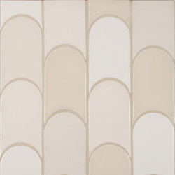 New Shapes - Elongated Crescent | Azulejos de pared | Pratt & Larson Ceramics