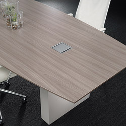Flow Conference Tables | Mesas de conferencia multimedia | Nucraft