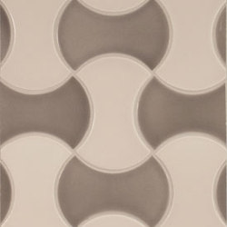Shapes - Hourglass | Carrelage céramique | Pratt & Larson Ceramics