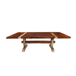 Titan Trestle Table | Esstische | Matthew Shively