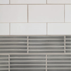 Wall Relief Glazed Ceramic Tile | Carrelage | Pratt & Larson Ceramics