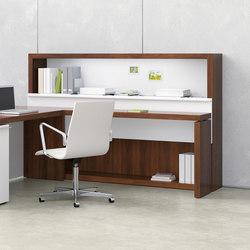 Neos Executive Casegoods | Individual desks | Nucraft