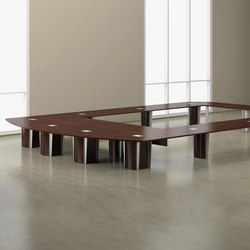 Saber Conference Tables | Tables collectivités | Nucraft