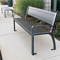 MLB970W Bench | Exterior benches | Maglin Site Furniture